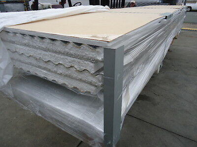 Patio Roofing (50Mm Insulated) Shale Grey Corro X 4 @ 5.4 Mtr