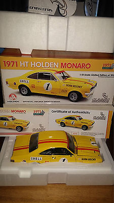1:18 Norm Beechey 1971 Shell Holden GTS 350 HT Monaro  #1 Classic Carlectables