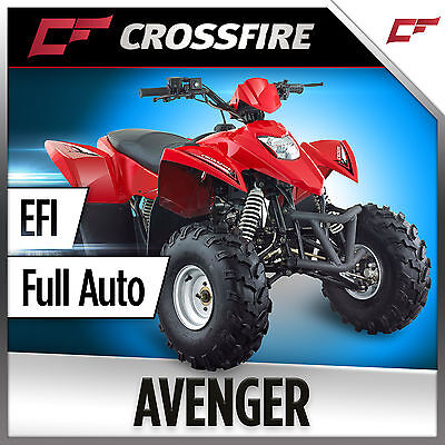 Crossfire Avenger 110cc EFI Fully Automatic manual Farm ATV quad bike motorcycle