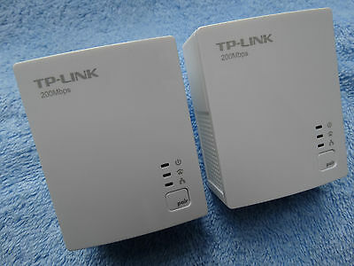 New other TP-LINK TL-PA2010 Powerline Adapter Starter Kit, up to 200Mbps