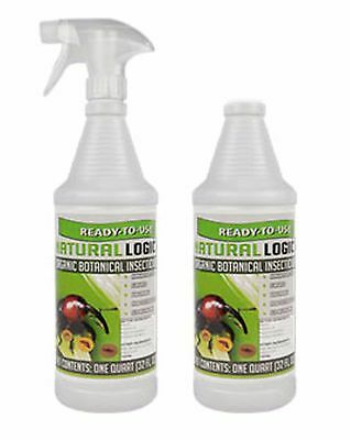 Natural Logic Organic Botanical Insecticide 2 PACK 32 OZ Each