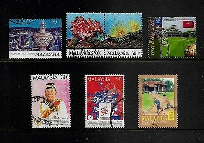 MALAYSIA - mixed collection No.10, 1992-2000 issues