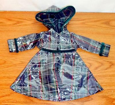 """Effanbee RAINCOAT ONLY for 18"""" 2003 America's Child American Girl My Life Dolls"""