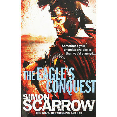 The Eagles Conquest by Simon Scarrow (Paperback), Fiction Books, Brand New