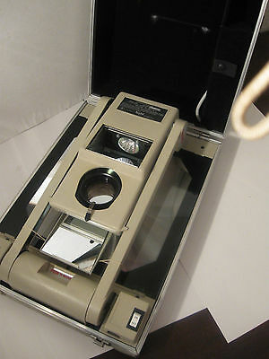 Buhl 200 Portable Overhead Projector Vintage with carrying case FREE SHIPPING