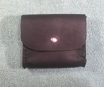 Back Leather Belt Pouch