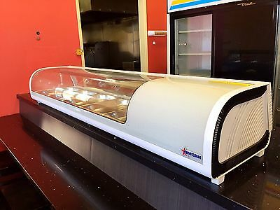 Omcan RS-CN-0132-S (25828) Sushi Display Case Countertop 4.61 Cuft