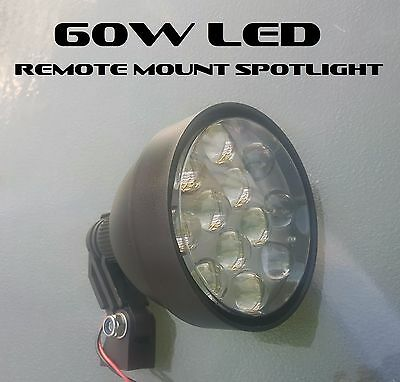 60w CREE LED 150mm Remote Roof Mount Spotlight, Hunting - 5400 Lumens