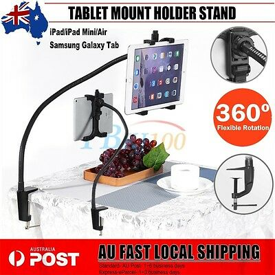 New Stand Holder Tablet Mount 360° Rotating Bed Desk Lazy iPad 2 3 4 Air Mini