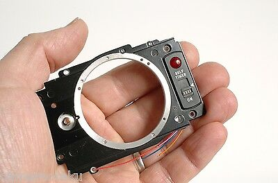 MINOLTA CLE Range finder camera front cover - brand new spare part! Repair yours