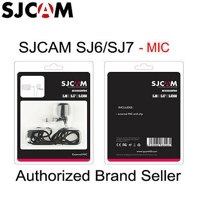 Original SJCAM Accessories External MIC for Camera SJ6 Legend/SJ7 Star/SJ360 DE