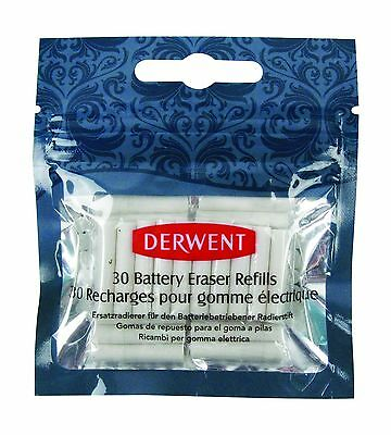 Derwent Battery Eraser Refills Pack of 30 Replacement Parts