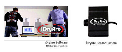 iDryfire Laser Target System + Camera to dry fire with Laser Ammo LaserLyte SIRT