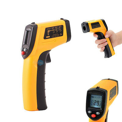 Non-Contact Digital LCD IR Laser Infrared Temperature Thermometer Gun -58~626℉