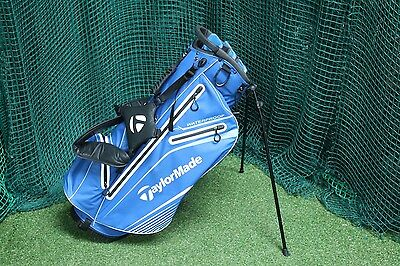 Taylormade Waterproof Stand Bag / Black Blue / 6-Way Divider / 68892