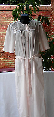 GIVONI Ladies (NEW) Pink Summer Dressing Gown. Size M
