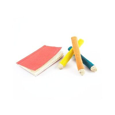 Small Animal Chew Toys Edible Book And Pencils With Edible Corn Pages