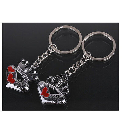 Cool Keychain Heart Kiss Love Couple Key Chain Ring Keyring Keyfob Lover Present