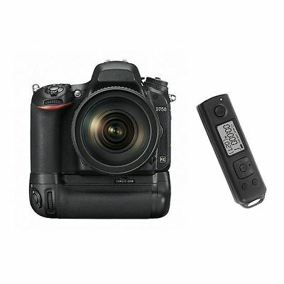 Meike MK-DR750 Built-In Wireless Control Battery Grip for Nikon D750 DSLR Camera