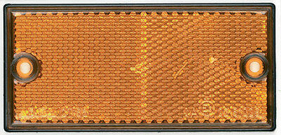 RCT570 RING Rectangular Amber Side Reflector Light [SIGNALLING]