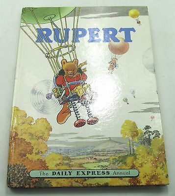 RUPERT BEAR DAILY EXPRESS ANNUAL 1957 VINTAGE COMIC STRIP ALFRED BESTALL 1950s