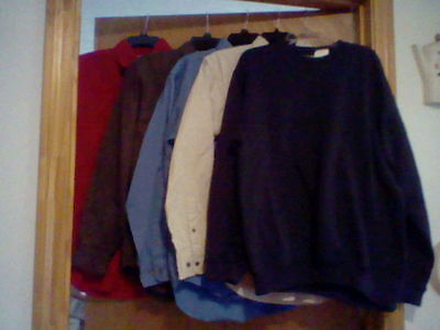 Brand New Lot Of 5 Men's Size Small Long Sleeve Shirts