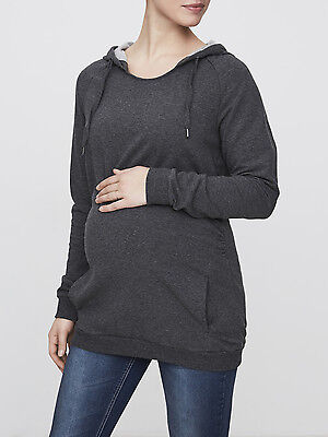 Mamalicious Maternity Pregnancy Hoodie Grey Sizes 10-16 GREAT QUALITY  £30
