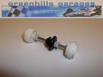Greenhills Scalextric Renault Megane Rear Axle & Wheels Used – P2512
