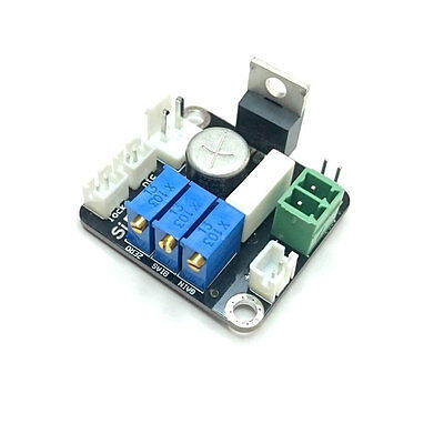 5A analog linear / PWM laser diode driver with thermal protection