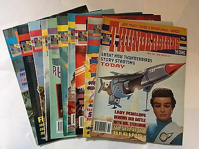 Thunderbirds Comics No.42,43,44,45,46,47,48,49,50.51
