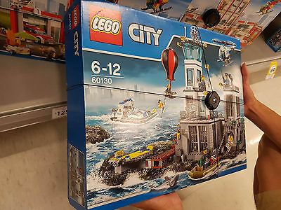 New LEGO 60130 City Prison Island Brand new-sealed Free shipping