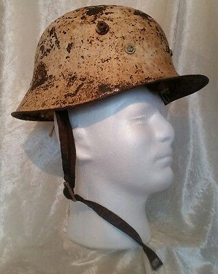 Authentic Irish Army 1927 Pattern German Style Vickers Armstrong Helmet SCARCE