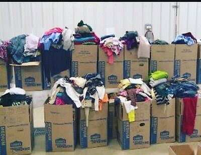 ebay wholesale 45 pounds of clothing!!!!