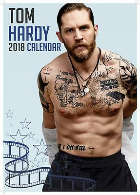 Tom Hardy Calendar 2018 Large A3 Wall Poster Size New & Sealed By Oc Calendars