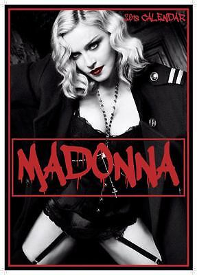 Madonna 2018 Calendar Large Uk Poster Size Wall By Oc + Free Uk Postage !!