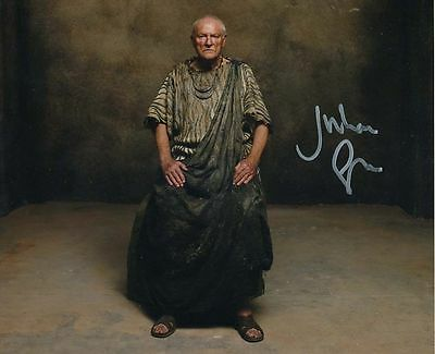 Julian Glover In Person Signed Photo - Atlantis - AG130