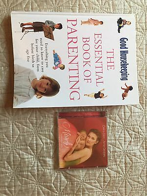 Gift For New Mum Baby Pregnancy Shower Parenting Book And Lullaby CD Celine Dion