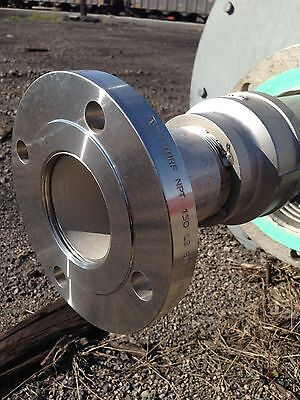 "3"" 304 Stainless Steel Pipe Threaded Raised Flange 150 Lb Plumbing Fitting"
