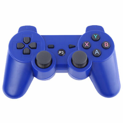 3rd Party Blue Wireless Gamepad Controller for PS3 Playstation 3 Console UK POST
