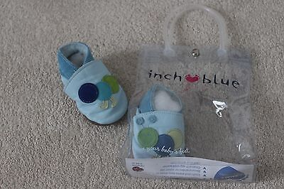 Bnwt Inch Blue Caterpillar Baby Shoes Size 0-6 Months - Rrp £19