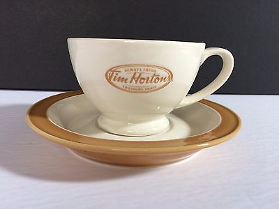 Tim Horton's Limited Edition Collectible Coffee / Tea Cup & Saucer Always Fresh