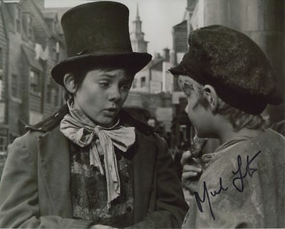 Mark Lester In Person Signed Photo - Oliver! - AG153