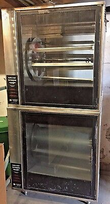 Henny Penny Scr-12 Sure Chef Chicken Rotisserie Oven Double Stacked Commercial
