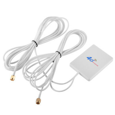 4G LTE SMA Male Antenna Panel Network Wireless Signal Booster for Router BI577