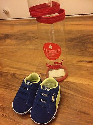 Baby Boys Shoes Size 0-3 Months,from Puma ,new With Original Packaging