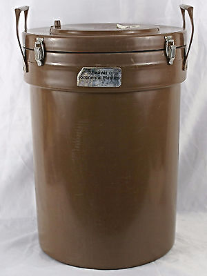 Vintage Thermovac Insulated Thermal Food Container Carrier Catering Model 0504