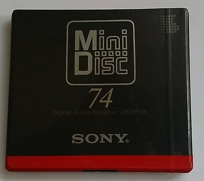 Minidisc MD SONY MDW-74 MDW74 1993 FIRST (new and sealed) 4901780213566