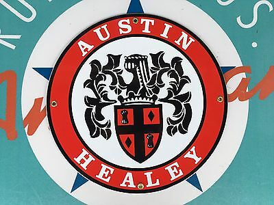 top quality AUSTIN HEALEY  porcelain coated 18 GAUGE steel SIGN