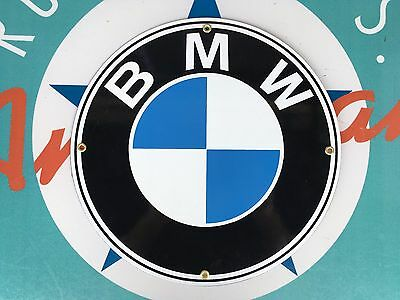 "top quality BMW ""ultimate driving machine""  porcelain coated 18 GAUGE steel SIGN"