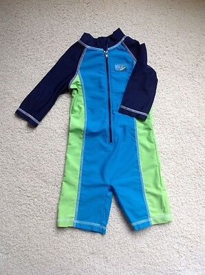 Mothercare Boys swimsuit sunsafe18-24 months VGC